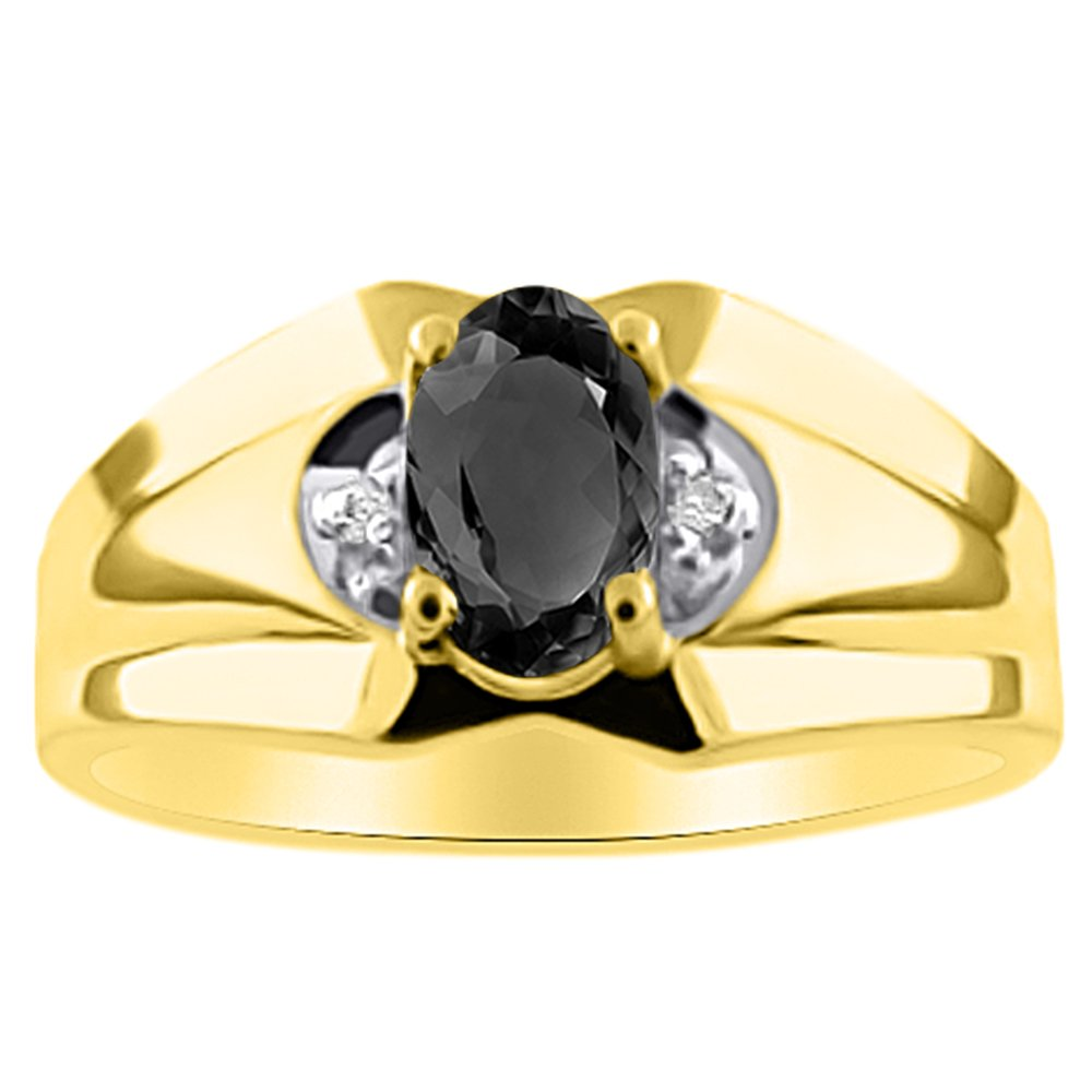 Tiger Eye /& Diamond Ring Sterling Silver or Yellow Gold Plated Silver