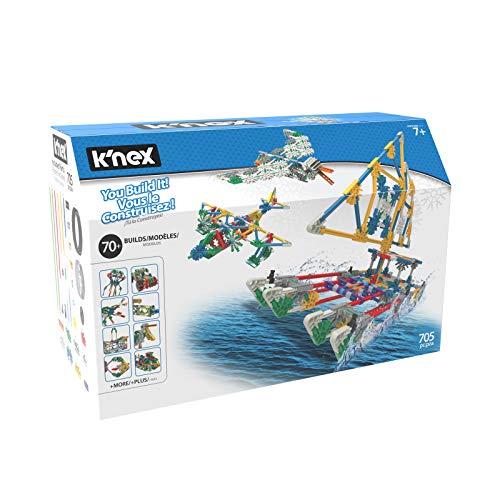 K'NEX 70 Model Building Set – 705 Pieces – Ages 7+ Engineering Education Toy (Amazon Exclusive)