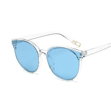 Wkaijc Meer Runder Rahmen Polarisierte Damen Mode Individualität Komfort Kreativität Sonnenbrillen,E