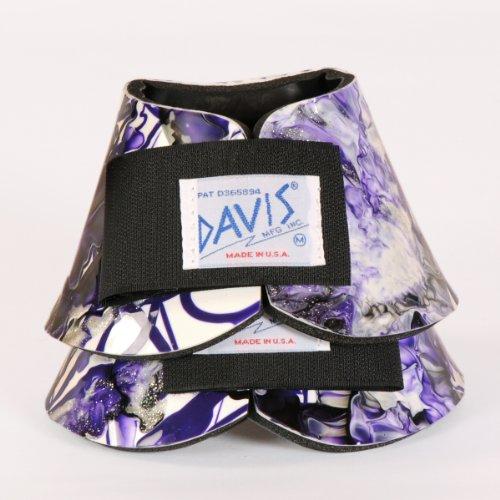 Davis Artisan Large Purple No-Turn Bell Boots