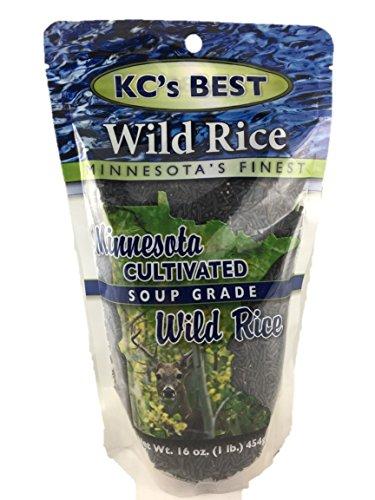 KCs Best Minnesota Cultivated Soup Grade Wild Rice (Minnesota Wild Rice Soup)