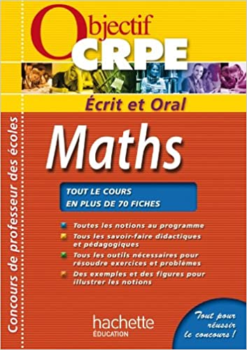 CRPE en fiches : Maths pdf ebook