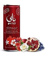 شاي ناي المثلج بزهرة الكركديه والرمان وماء الورد، 250 مل