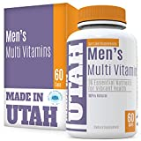 FLASH SALE - Multivitamins For Men Formulated for Easy Absorption, Has 28 Essential Nutrients For Vibrant Health, To Support Immune System, Increased Energy, And Mental Alertness