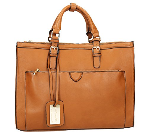 Cosmo Womens Work Shoulder SwankySwans Marcella Bag Marcella Brown SwankySwans Womens Tan wAx54nqXT