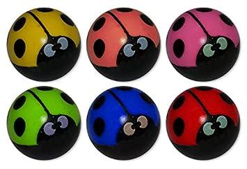 Business & Industrie Fußball Flummis 3 Farbig Flummi Springball 43 mm Ball Hüpfball Mitgebsel