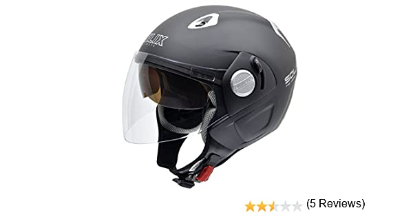 Amazon.es: NZI 150212G093 Solar Casco de Moto, Color Negro, Talla 59 (XL)