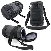 Black Protective Water-Resistant Speaker Carry Bag Compatible With Jam Storm Bluetooth Wireless Speaker - by DURAGADGET