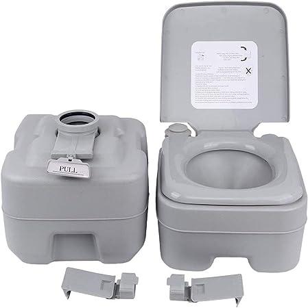 YOGANHJAT Toilettes 20 litres de Camping toilettes 200KG ...
