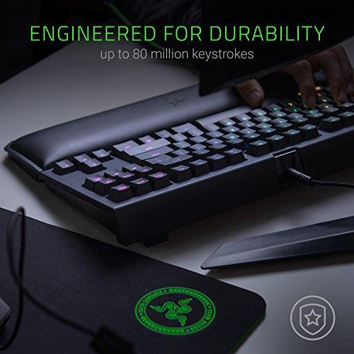 Razer Chroma Esports Keyboard Ergonomic Rest - - Razer Green Mechanical Switches