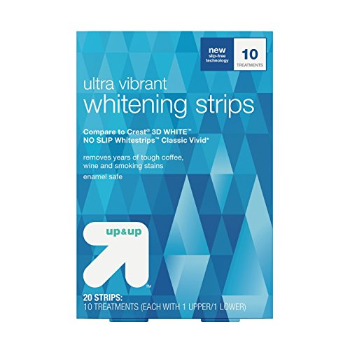 Ultra Vibrant Whitening Strips -12 Day Treatment - Up&Up™