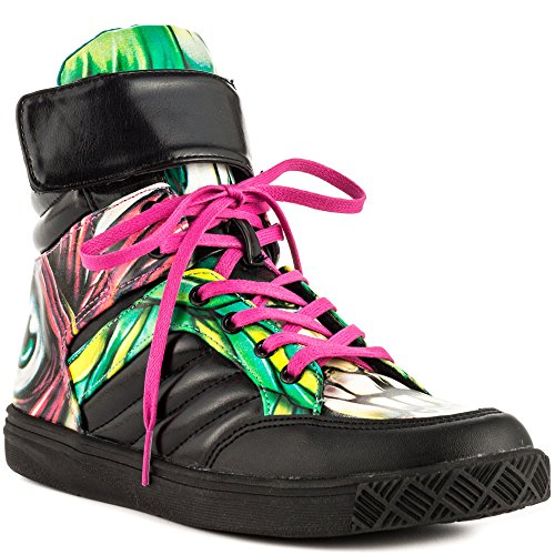 Iron Fist Women's Skin Crawler Sneaker, Turquoise, 7 M US (Iron Fist Flats Size 7)