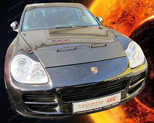 (HOOD BRA Front End Nose Mask for Porsche Cayenne 2002-2010 Bonnet Bra STONEGUARD PROTECTOR TUNING)