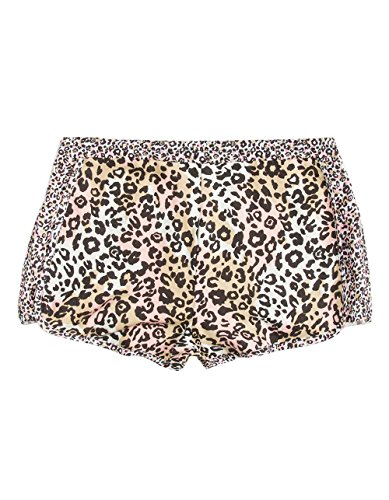 Full Tilt Leopard Print Girls Shorts, Leopard, Medium (Tilt Girls Shorts)