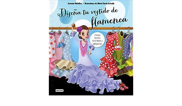 Diseña tu vestido de flamenca: Azucena Huidobro ...