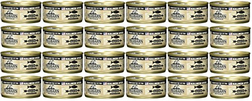 Image of Redbarn Case of 24 Salmon Stew Premium Grain-Free Cat Food, 5.5 Ounces Per Can