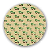 Uneekee Camels in an Oasis Lazy Susan: Large, pure birch wooden Turntable Kitchen Storage