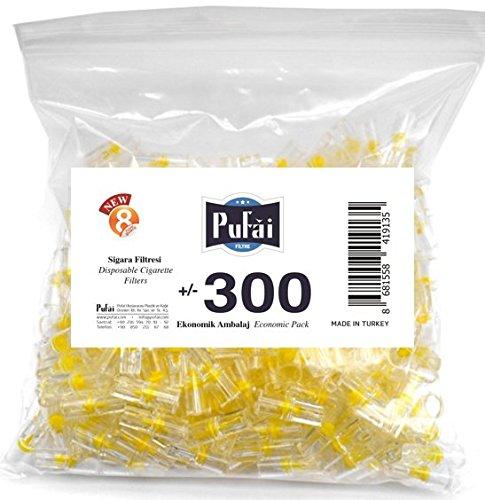 CIGARETTE FILTER BAG ECONOMIC 300 for standard cigarette (Disposable)