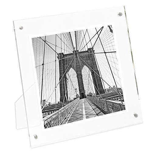 Isaac Jacobs International Plain Acrylic Magnetic Frame ()