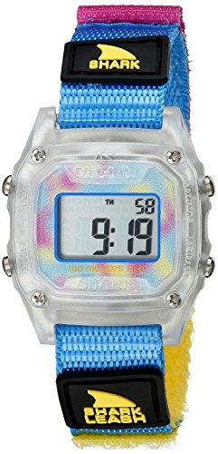 Freestyle Shark Mini Leash Clear/Cyan Unisex Watch 10022929 by Freestyle