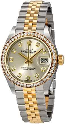 Rolex Lady Datejust Silver Diamond Dial Automatic Watch 279383SDJ
