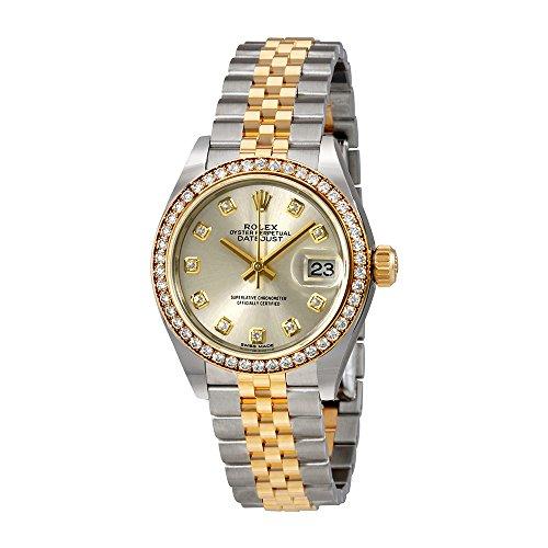 Rolex Lady Datejust Silver Diamond Dial Automatic Watch 279383SDJ