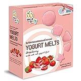 NEW!! Wel B Freeze-dried, Wel-B baby FD Yogurt Melts Strawberry 25g. by Thai Premium