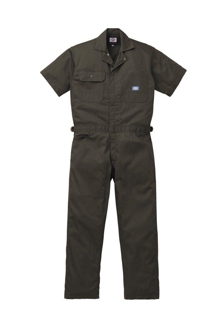 エドウイン 作業服 半袖ツヅキ服 31-81003 B07BJZCKKD LL|シルバーグレー