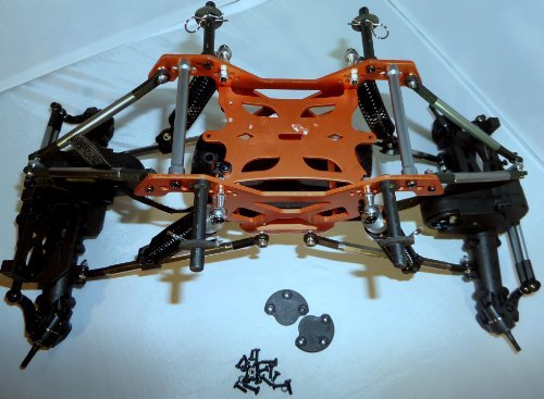 Redcat Rockslide RS10 XT Crawler Metal Chassis or Frame
