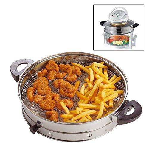 pourSentik halogène four Air fry / Friteuse ring Fixation accessoire Convient à utiliser avec n'importe quel 12 litres halogène four