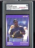 1990 Star Barry Bonds Set #3 Pittsburgh Season - 1 Graded Baseball Card PRO 10