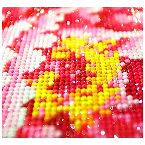 RONGANGT Diamond Embroidery Forest Butterfly Beauty 5D Diamond Cross Stitch Crystal Full Diamond Decorative DIY Diamond Painting-60x90cm(23.6x35.4inch)