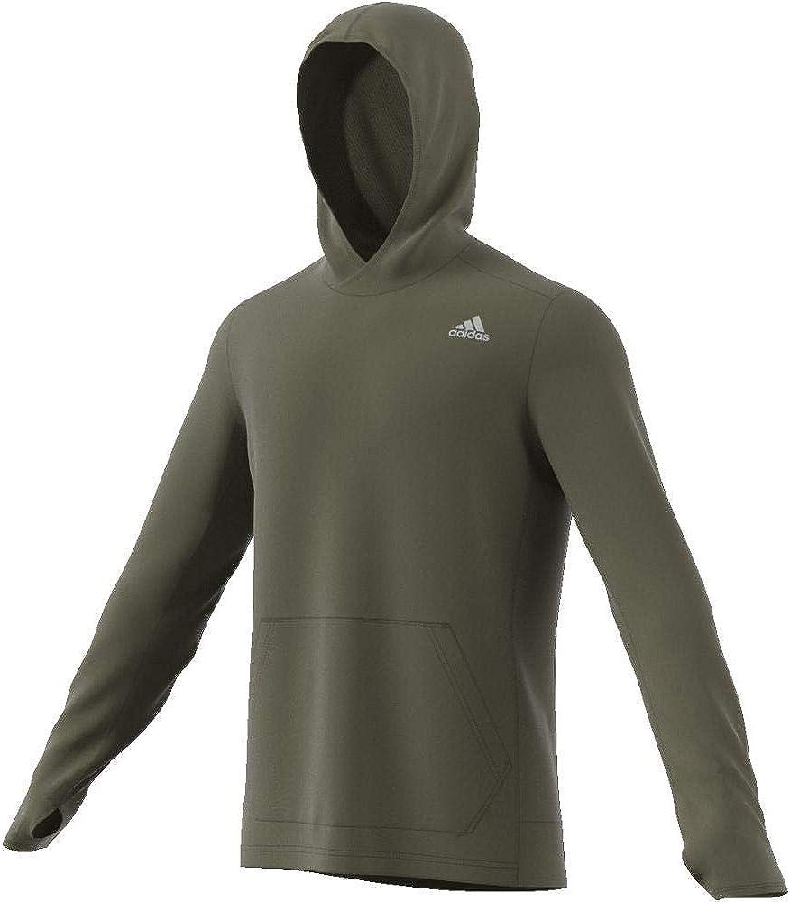 adidas Own The Run Hoodie Grün (Raw Khaki)