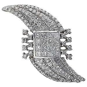 Verona Women's White Gold 18K Diamond Pendant
