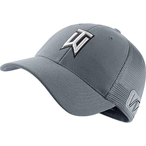 New 2015 Nike Golf TW Tour Legacy Mesh Hat COLOR: Dove Grey SIZE: L/XL