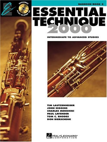 Essential Technique 2000: Bassoon Book 3 (Essential Elements Method) ()