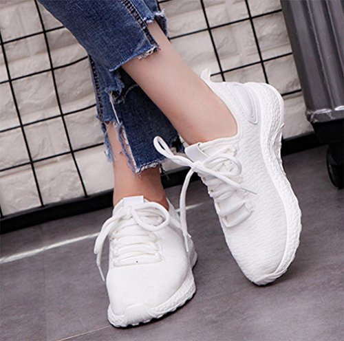 MEI I pattini delle donne dei pattini delle donne di autunno di autunno di i pattini casuali delle scarpe casuali delle scarpe casuali delle scarpe da tennis chiare , US6.5-7 / EU37 / UK4.5-5 / CN37