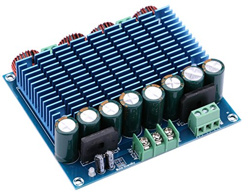 Yeeco 420Wx2 Digital Power Amplifier Board, Class D High Power Audio Sereo Amplifier AMP Module for Indoor Outdoor Audio System DIY Speakers
