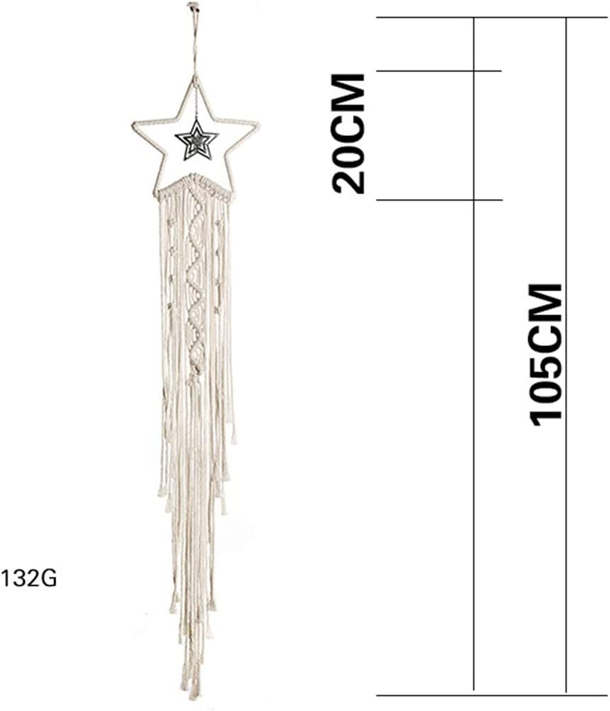 No Lights Mrinb Woven Macrame Wall Hanging Tapestry Wedding Wall Decoration Backdrop Wall Home Living Room Home Decor Art