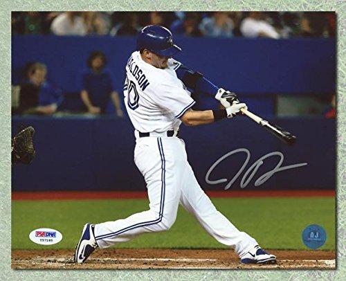Josh Donaldson Autographed Photo - horizontal homerun 8x10 - PSA/DNA Certified - Autographed MLB Photos