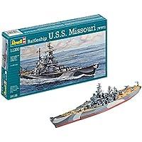 Revell Uss Missouri(Wwii) (5128)