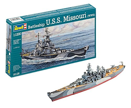 Revell Germany USS Missouri BB-63 Battleship Model Kit