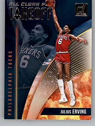 d8ca0edb6db Basketball NBA 2018-19 Donruss All Clear for Takeoff  13 Julius Erving  13