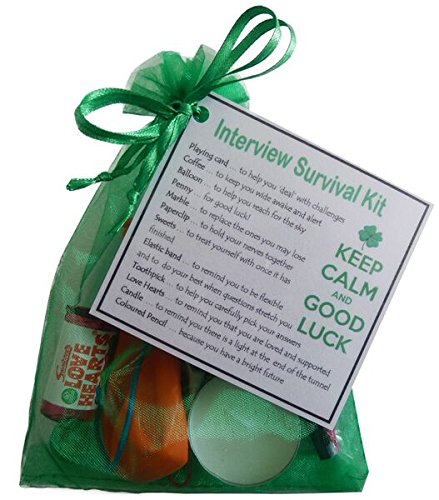 Interview survival kit great novelty gift to say good luck amazon interview survival kit great novelty gift to say good luck solutioingenieria Choice Image