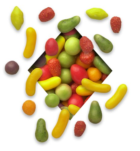 Koppers Candy Coated Petite Fruits, 5-Pound Bag