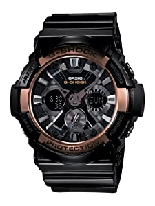 Casio Men's GA200RG-1A G-Shock Black Watch