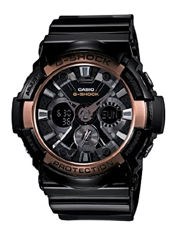 Casio Men's GA200RG-1A G-Shock Black Watch (G Shocks X Large)
