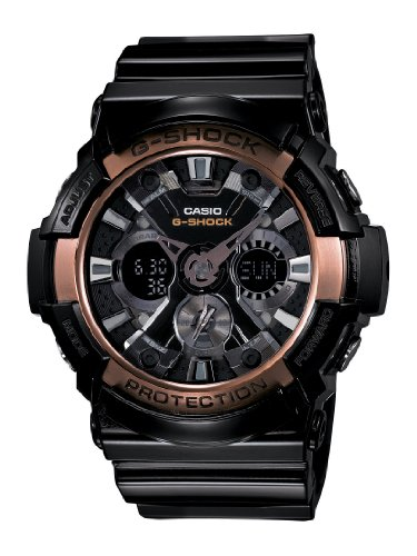 Casio GA200RG 1A G Shock Black Watch