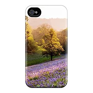 Cute High Quality Iphone 4/4s Lavenders On A Sunny Hill Case by ruishername