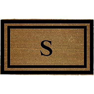 Personalized Monogrammed 18  by 30  Coco Coir Doormat S, Customized Welcome Mat